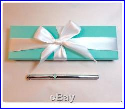 Tiffany & Co. Sterling Silver Ball Point T Clip Pen Enamel RARE hard to fined