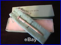 Tiffany Sterling Silver Ballpoint Pen with Bow Decoration