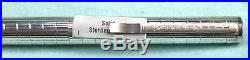 Tiffany and Co. Aurora Hastil 925 Sterling Silver 14K Broad (B) Nib Box & Papers