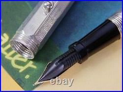 Ultra Rare-New Old Stock-Montegrappa Reminiscence Sterling Silver Fountain pen