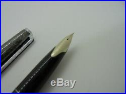 Used Pilot custom Sterling Silver Heart Sutra fountain pen 18K F-nib