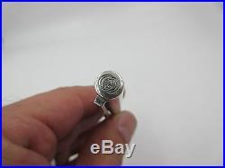 Vintage Gucci Sterling Silver Enamel Ball Point Pen