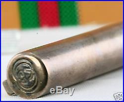 Vintage Gucci Sterling Silver Enamel & Pen Refill