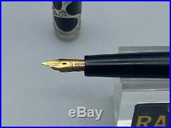 Vintage HEATH Parker 14 Fountain pen Sterling Silver Filigree Overlay