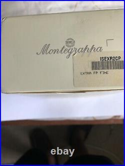 Vintage Montegrappa Extra 1912 Fountain Pen 925 Silver Trim