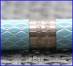 aa5fbec64f Vintage New Tiffany & Co Sterling Silver Blue Diamond Purse Ball Pen  Hallmarked