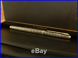 Vintage PARKER Cisele Classic 75 Sterling Silver Fountain Pen, EXCELLENT