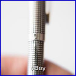 Vintage Parker 75 Cisele Sterling Silver Ballpoint Pen USA, pre-owned