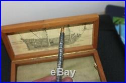 Vintage Parker 75 SPANISH TREASURE 1715 Fleet Ballpoint Pen NEW Boxed