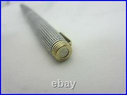 Vintage Parker 75 Sterling Silver Cisele Fountain Pen 14k Gold Nib 66