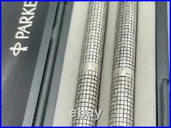 Vintage Parker CISELE Ballpoint pen Pencil Sterling Silver ARGENTINA RARE
