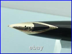 Vintage Sheaffer Imperial Sterling Silver Diamond Cut Fountain Pen, Box Ex Cond