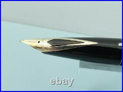 Vintage Sheaffer Imperial Sterling Silver Diamond Cut Fountain Pen, Box Nr MINT
