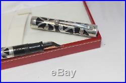 Vintage Sheaffer NOSTALGIA Fountain Pen Sterling Silver 14K Med nib NOS NEW