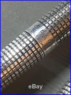 Vintage Sterling Silver Parker Pen & Mechanical Pencil Set CLEAN