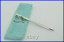 Vintage Tiffany & Co. Treble Clef Pen in Sterling Silver