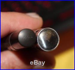 Vintage WATERMAN 452 Sterling Silver Overlay Fountain Pen PARTS OR REPAIR