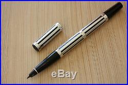 Vintage Waterman Night & Day Roller Pen Sterling Silver, Hallmarked