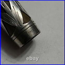 Vintage Watermans Fountain Pen 452 Sterling Silver Overlay