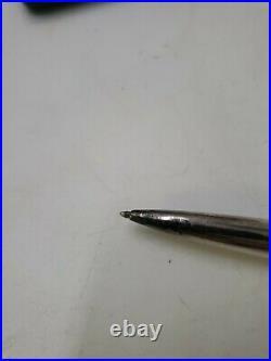 Vintage Yard O Led Sterling Silver Ballpoint Pen Aristocrat w case L1