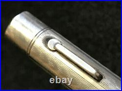 Vtg Wahl Sterling Silver Pendant Fountain Pen with 14k Nib