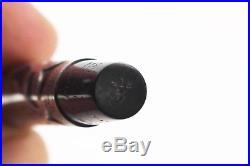 WATERMAN 412 1/21 VPSF Sterling Silver Overlay Fountain Pen Restored 2mm FLEX