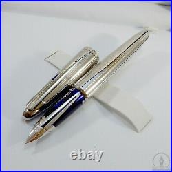 Waterman Edson 2004 Limited Ed. Sterling Silver SAMPLE Fountain Pen 18K M Nib