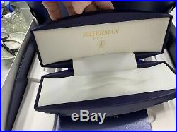Waterman Edson Sterling Silver Limited Edition Fountain Pen Med Pt