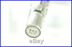 Waterman IDEAL 552 1/2 Basketweave Silver Filigree lever filler safety 1920