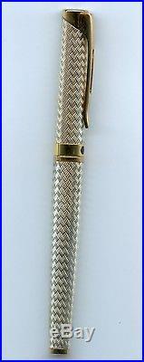 Waterman L'Etalon Sterling Silver Fountain Pen
