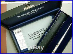 Yard O Led Ambassador Limited Edition Sterling Silver Ball Point New In Box