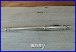 Yard-O-Led Sterling Silver. 925 Rollerball Pen, READ DESCRIPTION