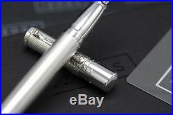 Yard O Led Viceroy Barley Grand Sterling Silver Fountain Pen